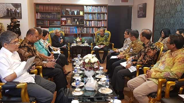 PT PLN(Persero)  dan PLN GG diundang Wakil Ketua DPR RI, Dr.Ir Agus Hermanto